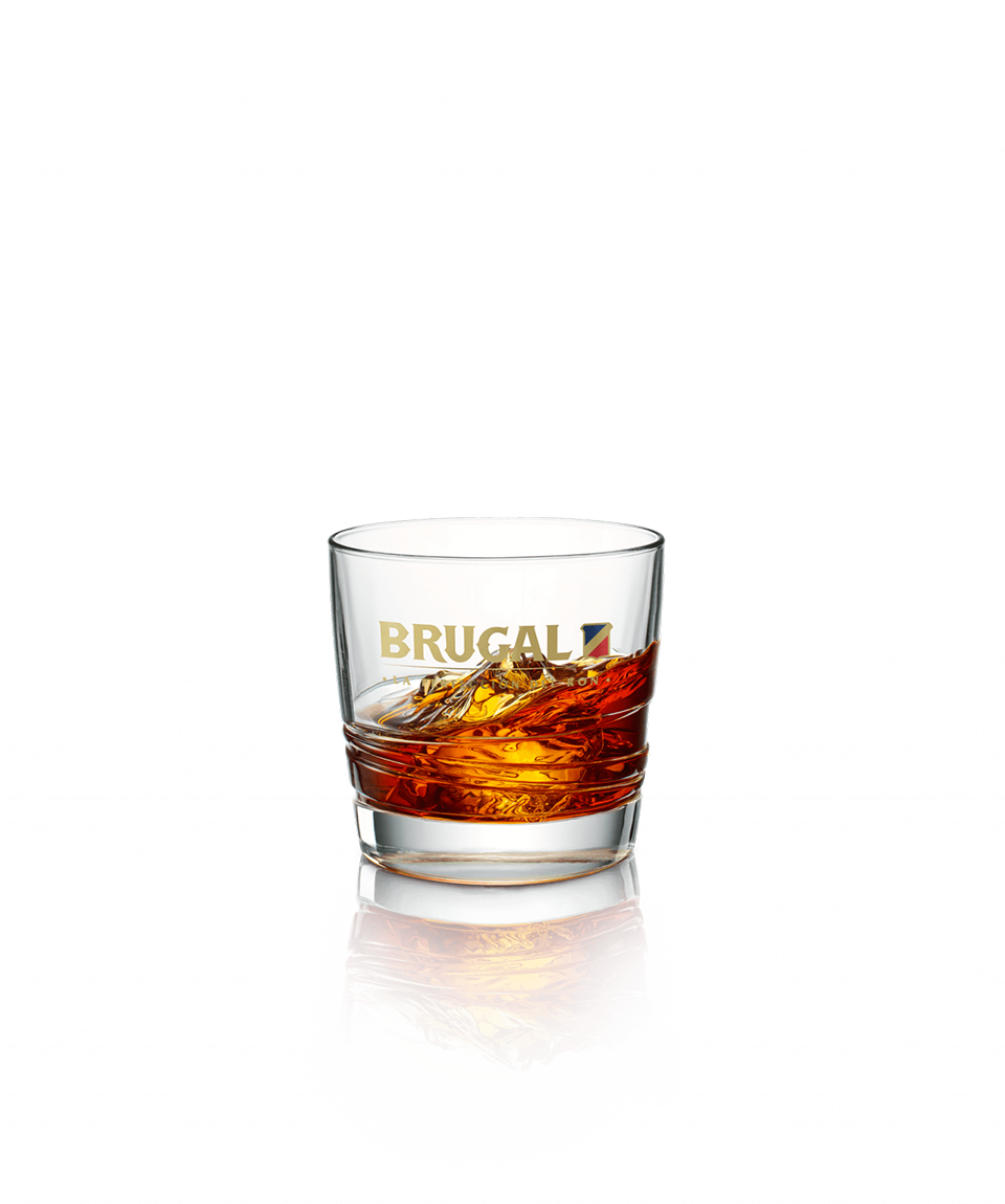 Brugal Extra Viejo On The Rocks