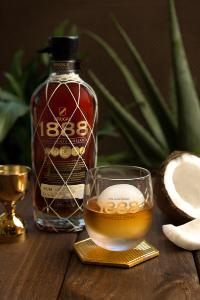 Brugal 1888 Coconut ice ball